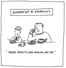 Epiphanic Humor about donuts