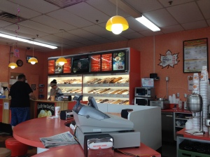 Maple Donuts Counter pic